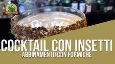 """""""BugDaiquiri"""" utilizza formiche verdi essiccate in una crusta di miele, in una base di Rum agricolo che lascia al palato un gusto erbaceo. Rum, Cereal, Breakfast, Food, Morning Coffee, Essen, Meals, Rome, Yemek"""