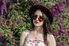 Poses with Roses: OVERSIZE VINTAGE INSPIRED METAL ROUND CIRCLE SUNGLASSES 8370