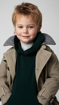 This will be my Burberry-decked-out child.
