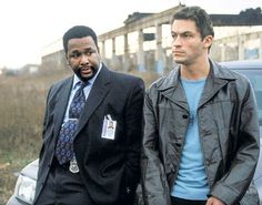 The Wire. Dominic West. McNulty. Bunk. Wendall Pierce.