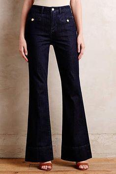 Anthropologie Pilcro High Rise Superscript Vintage Flare Jeans Nwt 0 2 4 6 8 10