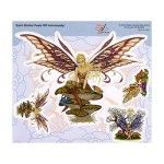 Fairy Decorative Sticker Decal By Dan Morris - 4 Sticker Set $8.99 www.teeliesfairygarden.com Decal sticker is great for picture albums, car windows, mirrors, etc… This is something you'll love to see every day. #fairygarden