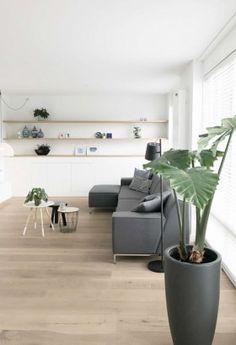 Home And Living, Living Room, Living Comedor, Apartment Renovation, Home Decor Kitchen, Kitchen Ideas, Scandinavian Living, Kitchen Remodel, House Plans