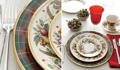 pretty china dishes | Found on toastandtables.blogspot.com