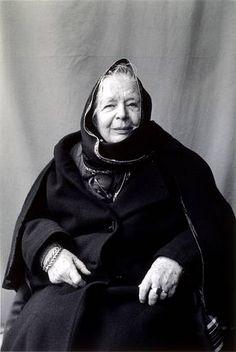 Marguerite Yourcenar (1903-1987) is a Belgian born French novelist and essayist. Photo by Boubat