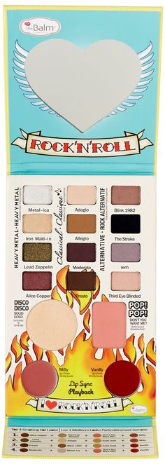 theBalm Balm Jovi Rockstar Face Palette - Makeup Set: Amazon.co.uk: Beauty
