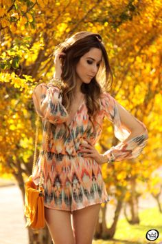 printed jumpsuit FashionCooolture
