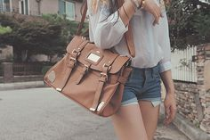 Brown Shoulder Bag Tumblr 71