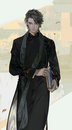 Fantasy Character Design, Character Design Inspiration, Character Art, Fantasy Art Men, Anime Fantasy, Estilo Anime, Handsome Anime, Character Portraits, Boy Art