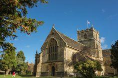 The church of St John the Evangelist, Milborne Port, Somerset, UK