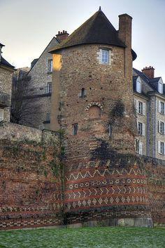 Le Mans ~ the Old Castle, France