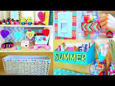 DIY Room Decor! 10 DIY Room Decorating Ideas for Teenagers (DIY Wall Decor, Pillows, etc.) - YouTube