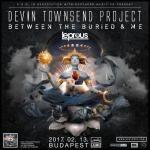 The Devin Townsend Project (CAN): Transcendence tour - Jövőre az A38 Hajón!
