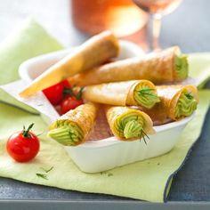 Découvrez la recette Cornets au guacamole sur cuisineactuelle.fr.