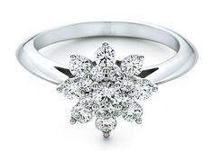 Tiffany Floral Engagement Ring. Even if I never get married, I WILL STILL GET IT!!!