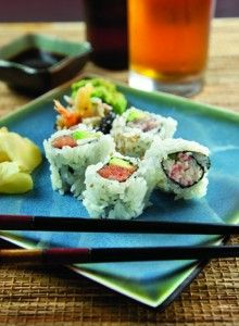 Craft Beer and Sushi Roll Pairings