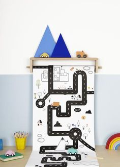 Meet Playpa, a revolutionary new concept in creative play. You can color it, sticker it, play on it, decorate walls with it - it's more open-ended than a colori