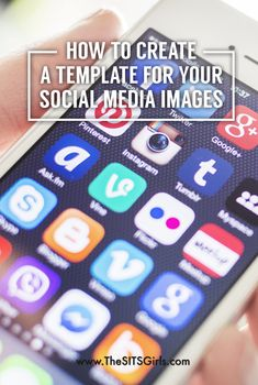 Blog Tips | Consistent branding is key for bloggers. Learn how to make a simple template for the images you share on social media.