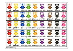 When I teach my students color words and number words at the beginning of the school year, they often get overwhelmed with so many new words! My so...