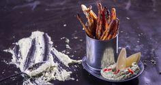 Τσιπς Καρότου στον φούρνο