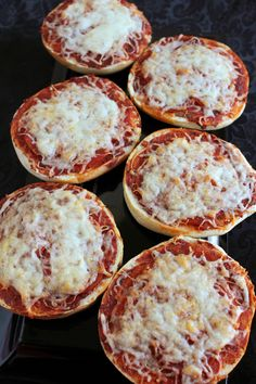 Pizza Bagels from eMeals and Nifty Thrifty Savings