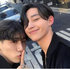 Cute ulzzang boys Korean Fashion Black Clothes