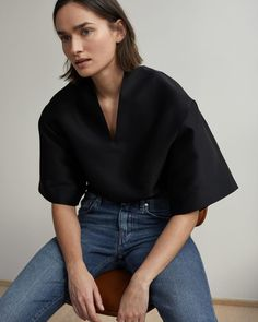 New styles from @toteme including the Azzuro Top. Available in-store now and online soon. #toteme