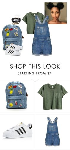 """Untitled #106"" by rosey2002 ❤ liked on Polyvore featuring adidas, Topshop and ASOS"