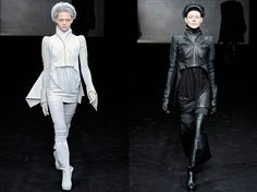 Best of Haute Macabre - Rick Owens from 2009, outfitting idea for my leather tailcoat