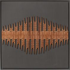 Louise Philbrick Intonation: mixed media artwork by Louise Philbrick designed with piano parts scavenged from a piano beyond repair