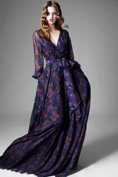 ZAC Zac Posen Fall 2013 - I love flowy dresses!!!