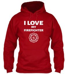 Do you love your firefighter? Yes! @Jacqueline Shawver cute!