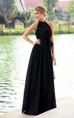 Long Evening Dresses Halter A Line Chiffon  prom  promdress  dress   eveningdress   · Backless Prom Dresses · Prom Party Dresses ... 1aa63c7dbbae