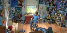 Talented teens creating a replica of Andy's bedroom from Toy Story 3.  Scroll to the bottom to see their film.  Such talent! :)