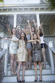 Glitter theme for bridal shower or bachelorette party. - when I plan your bachelorette party, this is going to be the theme! Bachlorette Party, Glitter Bachelorette Party, Glitter Party, Bachelorette Parties, Glitter Confetti, Bachelorette Party Pictures, Glitter Bomb, Glitter Uggs, Glitter Birthday