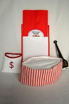 ikat bag: Donut Shop On-The-Go
