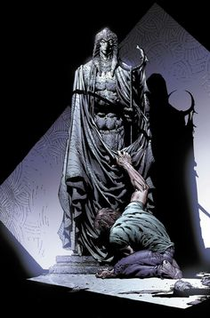 Moon Knight attracts the spirit of Konshu.