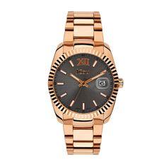 Γυναικείο luxury  amp  καθημερινό ρολόι JCou JU15086-5 Queens με  ημερομηνία 1ff312d69a1