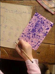 Blotting paper.