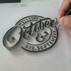90% to fnsh haha #lettering #font #october #inktober #ligaturecollective #artoftype #kaligrafina #typographindonesia #typegang #thedailytype #handmadefont #handfont #welovetype #jumat