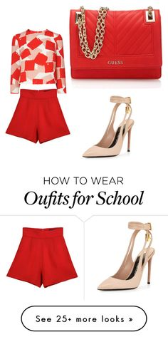 """""""old school"""" by tworth73 on Polyvore featuring Tom Ford and GUESS"""