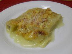 Paprika En La Cocina: Canelones de pollo y jengibre con velouté de ave al cava
