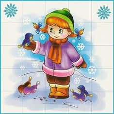 Flower Crafts, Paper Flowers, Winter, Fictional Characters, Games, Winter Time, Projects, Fantasy Characters, Winter Fashion