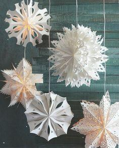 Natal - enfeites de papel