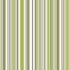 Arthouse Sophia Stripe Wallpaper Green / Cream / Brown
