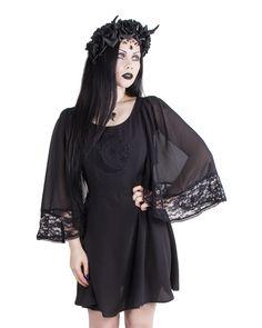Hell Bunny | Ayla Mini Dress - Tragic Beautiful buy online from Australia
