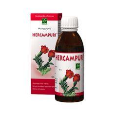 Hercampuri na poprawę przemiany materii, jako wspomagacz odchudzania, na wątrobę.