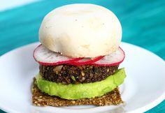 Raw Vegan Broccoli Burger Recipe – Raw Forager
