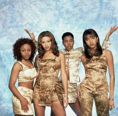 The three times they dress liked this...   The 25 Most Embarrassing Destiny's Child Coordinated Looks