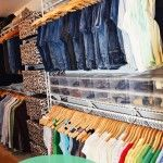 "Possibly a shelf on top of racks? Room for storage? Home Organization 101 - Week 13 ""The Master Closet"" (Season Organisation Hacks, Closet Organization, Organizing Tips, Organization Station, Household Organization, Master Closet, Closet Bedroom, Deep Closet, Closet Redo"